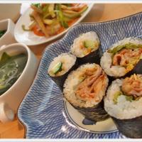韓国風海苔巻き キムパ