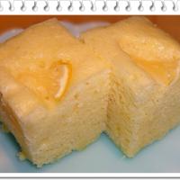 本日のレシピ レモンヨーグルト蒸しパン