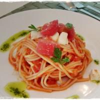 本日のレシピ 〜トマトの冷製パスタ〜