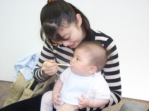 あかちゃん教室 (離乳食教室)