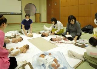 赤ちゃんサロン:2週間~1ヵ月