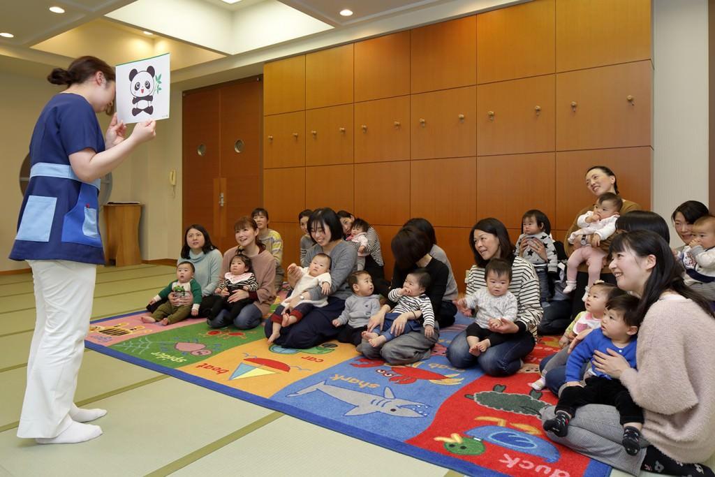 赤ちゃん教室 (10ヶ月教室)