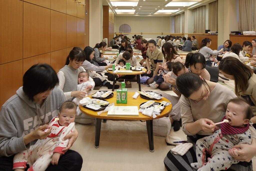 赤ちゃん教室 (離乳食教室)