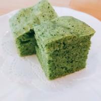 レシピ紹介~ほうれん草の蒸しパン~