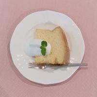 レシピ紹介~しっとりふわふわ☆シフォンケーキ~