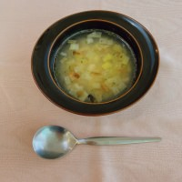 レシピ紹介~白身魚とレモンのスープ~